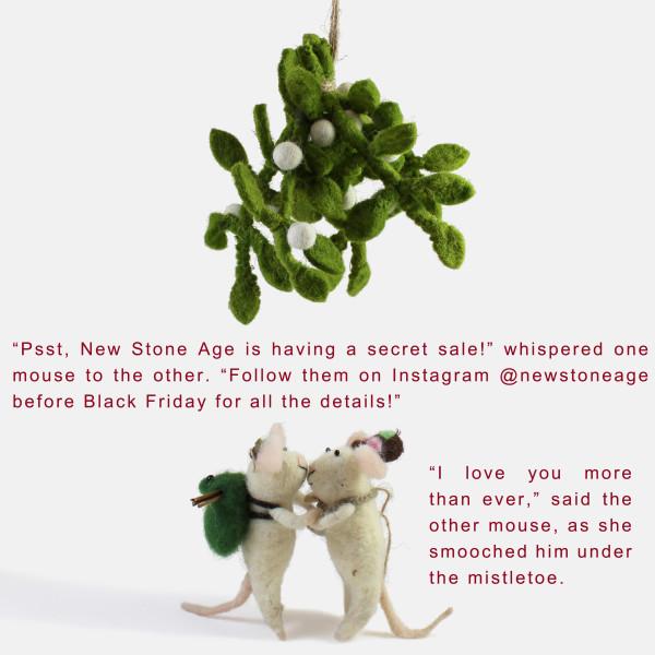 NSA xmas mistletoe mice IG